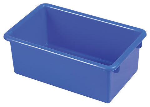 ECR4Kids ELR-0101-BL Stack & Store Tub without Lid - Blue - Set of 15 - Peazz Toys