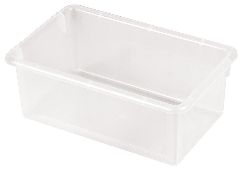 ECR4Kids ELR-0101-CL Stack & Store Tub without Lid - Clear - Set of 15