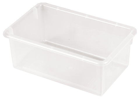 ECR4Kids ELR-0101-CL Stack & Store Tub without Lid - Clear - Set of 15 - Peazz Toys