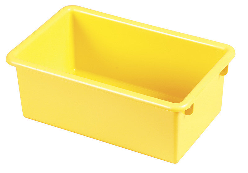 ECR4Kids ELR-0101-YE Stack & Store Tub without Lid - Yellow - Set of 15