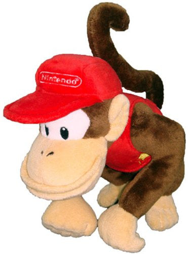 Nintendo Official Super Mario Diddy Kong Plush, 6
