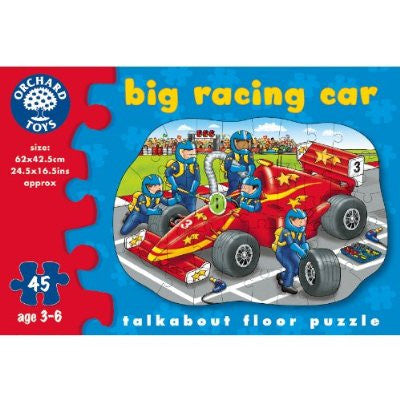 Orchard Toys Big Racing Car Puzzle 279 - Peazz Toys