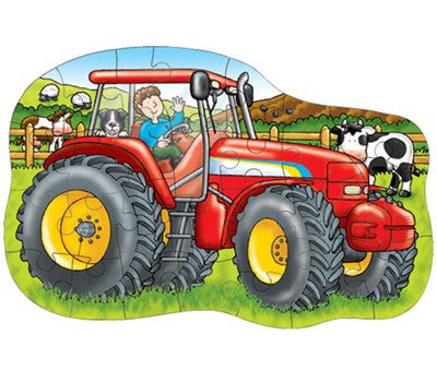 Orchard Toys Big Tractor Jigsaw Puzzle 224 - Peazz Toys