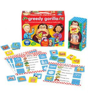 Orchard Toys Greedy Gorilla Game 041 - Peazz Toys