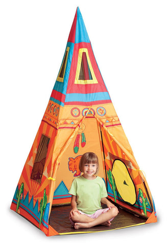 Pacific Play Tents 39610 Santa Fe Giant Teepee - Peazz Toys