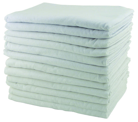 ECR4Kids ELR-026 Rest Time Blanket - White - Set of 12 - Peazz Toys