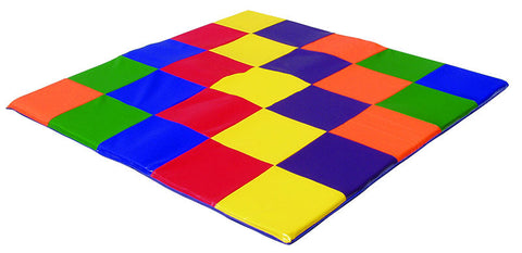 ECR4Kids ELR-031 SoftZone¨ Patchwork Toddler Mat - Peazz Toys
