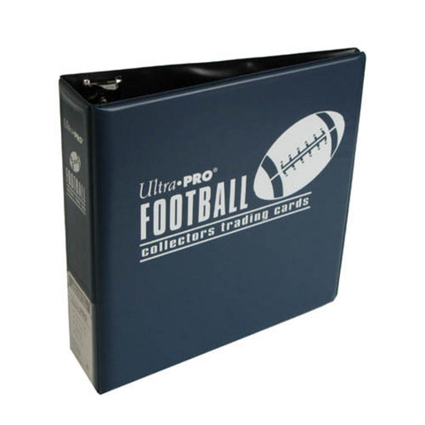 Ultra Pro 3-Inch Footballl Card Album, Blue - Peazz Toys