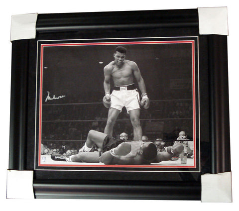 Autographed Muhammad Ali 16X20 Framed Photo - Peazz Toys