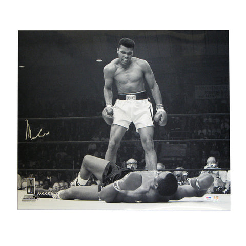 Autographed Muhammad Ali 20X24 Unframed Photo - Peazz Toys