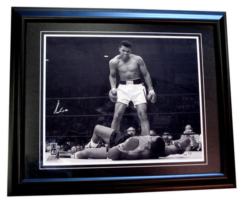 Autographed Muhammad Ali 20X24 Framed Photo - Peazz Toys