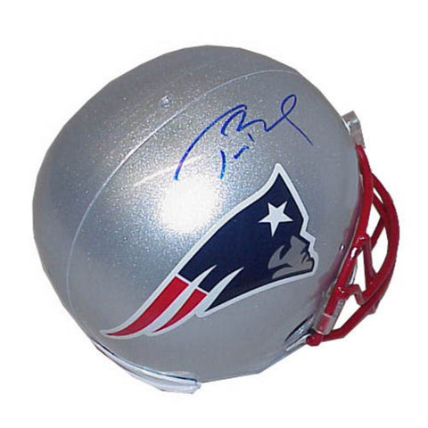 Autographed Tom Brady New England Patriots full size replica helmet - Peazz Toys