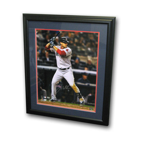 Autographed Will Middlebrooks 16-by-20 Inch Framed Batting Photo - Peazz Toys