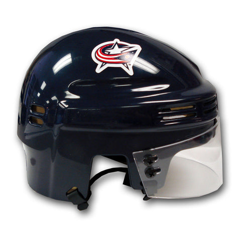 Official NHL Licensed Mini Player Helmets - Columbus Blue Jackets - Peazz Toys