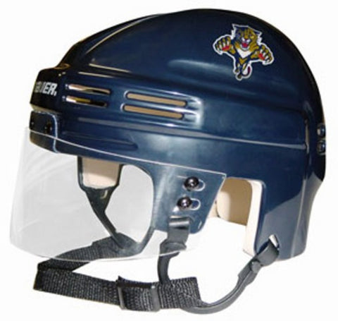Official NHL Licensed Mini Player Helmets - Florida Panthers - Peazz Toys