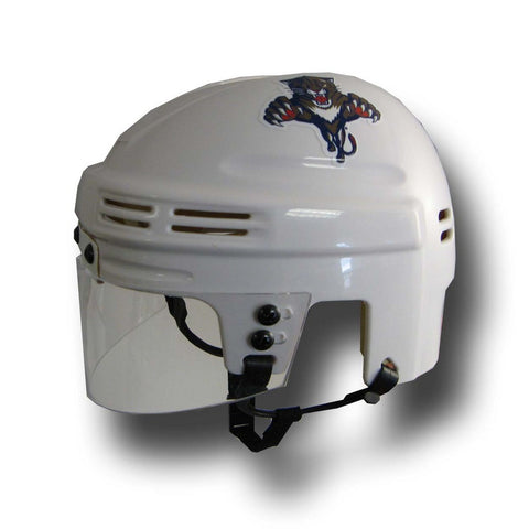 Official NHL Licensed Mini Player Helmets - Florida Panthers (White) - Peazz Toys