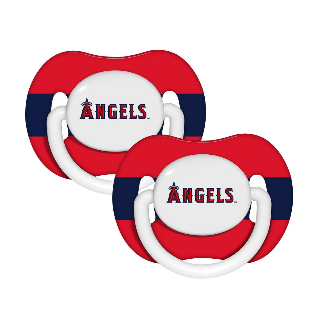 2 Pack Pacifiers Los Angeles Angels of Anaheim