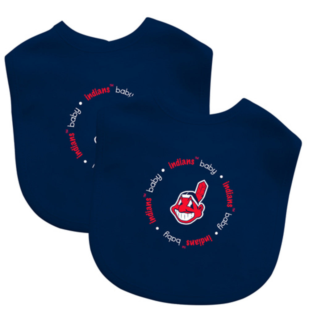 2 Pack Baby Fanatic Bib Cleveland Indians