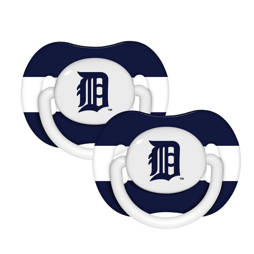 2 Pack Pacifiers Detroit Tigers
