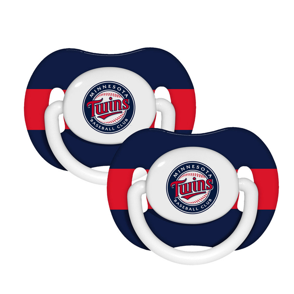 2 Pack Pacifiers Minnesota Twins
