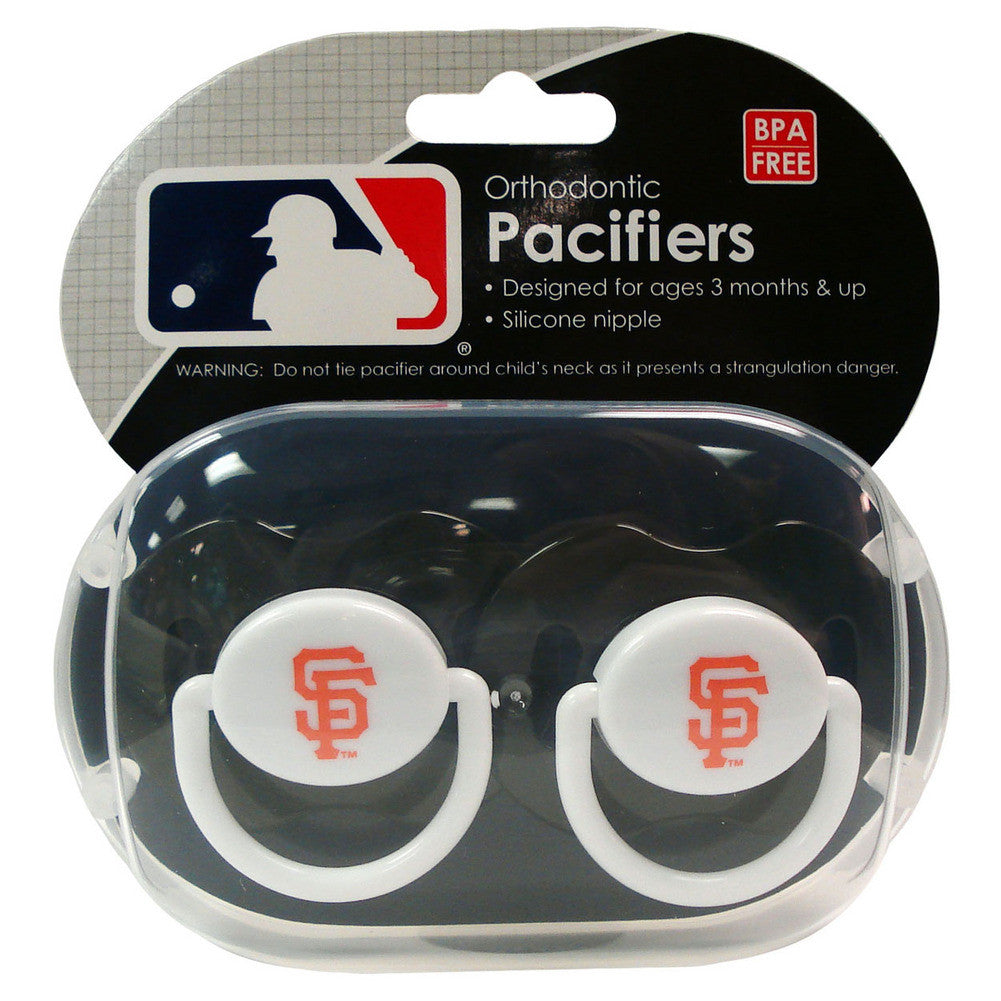 2 Pack Pacifiers San Francisco Giants