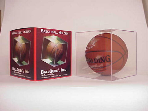 Balllqube Basketball Display Case - Peazz Toys