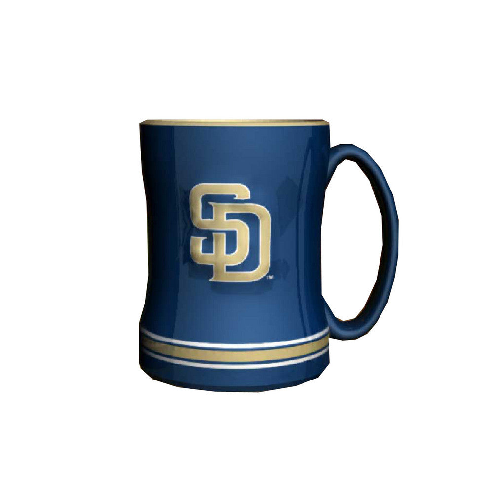 Boelter Boxed Relief Sculpted Mug - San Diego Padres