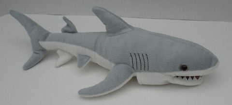 "12"" Shark Finger Puppet - Peazz Toys"