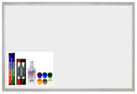 "ECR4Kids ELR-0488 24""x36"" Magnetic Dry-Erase Set - Peazz Toys"
