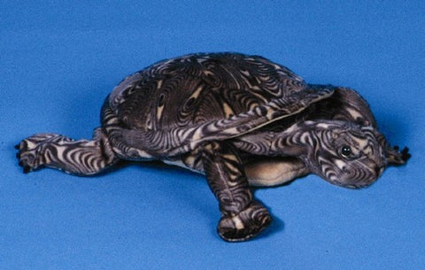 "12"" Wood Turtle Puppet - Peazz Toys"