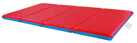 "ECR4Kids ELR-0576 2"" Thick 4-Fold Rest Mat - Set of 5 - Peazz Toys"