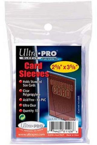 Ultra Pro Soft Sleeve (Case of 100 Packs) - Peazz Toys
