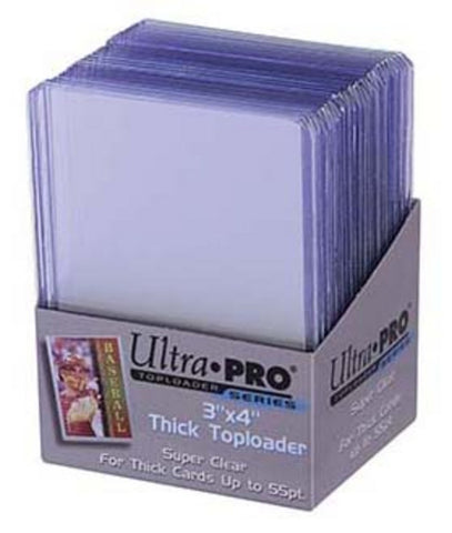 Ultra Pro3X4 Thick Topload Card Holder (100) - Peazz Toys