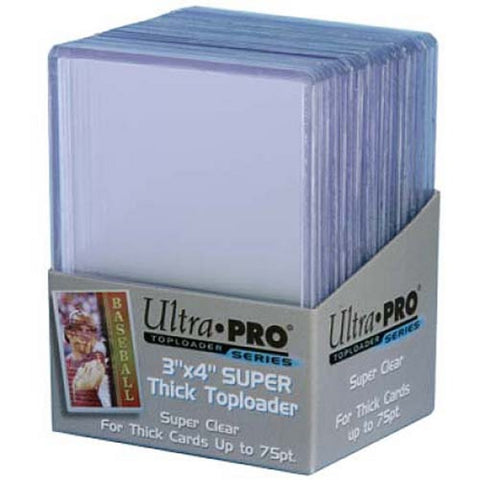 Ultrapro3 X 4 Super Thick Topload Card Holder (100) - Peazz Toys
