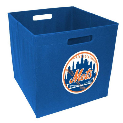 New York Mets - 12'' Storage Cube - Peazz Toys