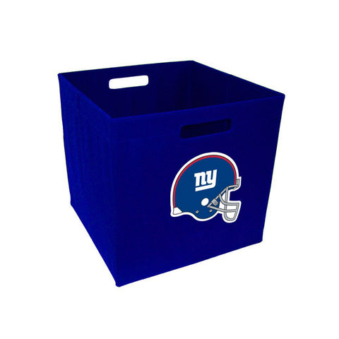 Storage Cube 12-Inch, Cloth - New York Giants - Peazz Toys
