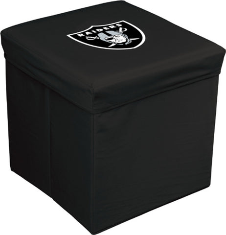 16-Inch Team Logo Storage Cube - Oakland Raiders - Peazz Toys