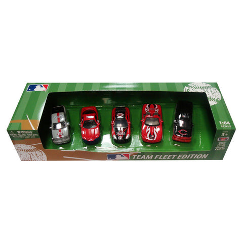 Top Dog 5 Piece Diecast Gift Set - Cincinnati Reds - Peazz Toys
