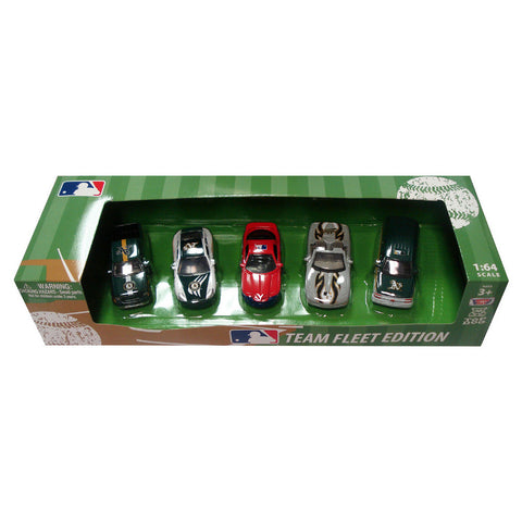 Top Dog 5 Piece Diecast Gift Set - Oakland Athletics - Peazz Toys