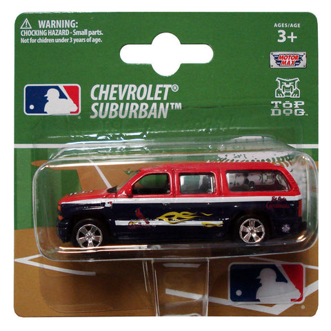 Top Dog 1:64 Scale St Louis Cardinals Suburban - Peazz Toys