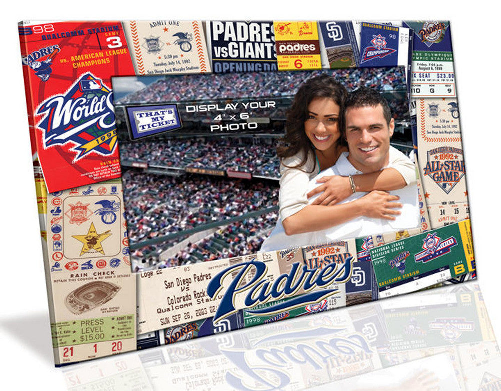 4X6 Picture Frame - San Diego Padres