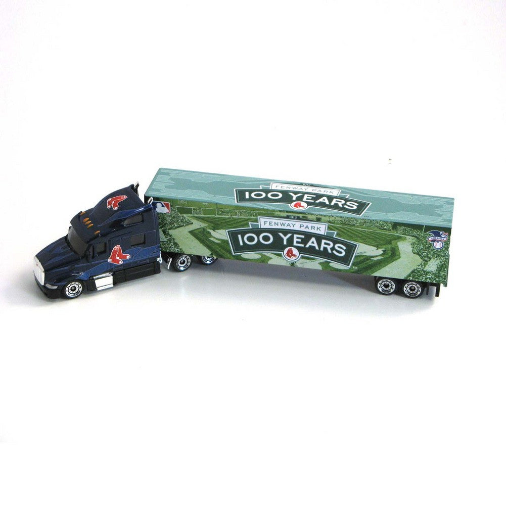 2012 180 Scale Tractor Trailer Diecast Boston Red Sox Fenway Park 100Th Anniversary