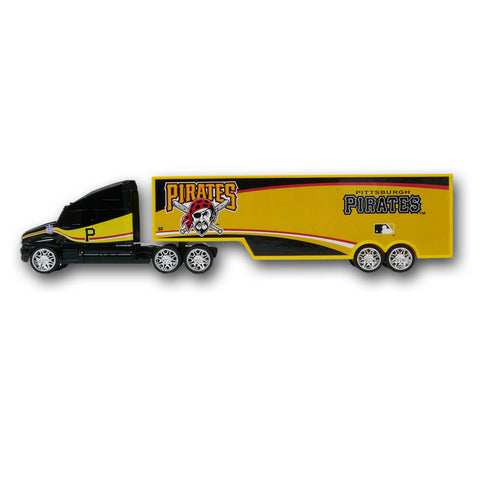 Top Dog 1:64 Tractor Trailer Transport - Pittsburgh Pirates - Peazz Toys