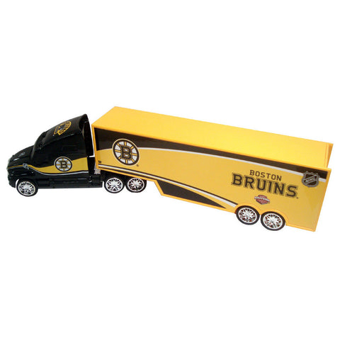 Top Dog Tractor Trailer Transport 1:64 Scale Diecast - Boston Bruins - Peazz Toys