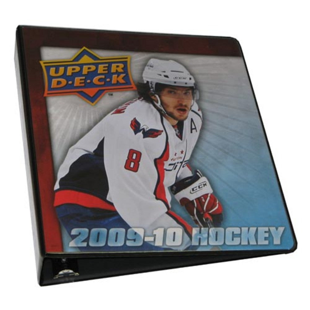 2 Four Color Ultra Pro Album With 200910 Upper Deck Graphics