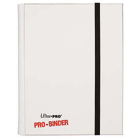 Ultra Pro Pro-Binder White - Peazz Toys