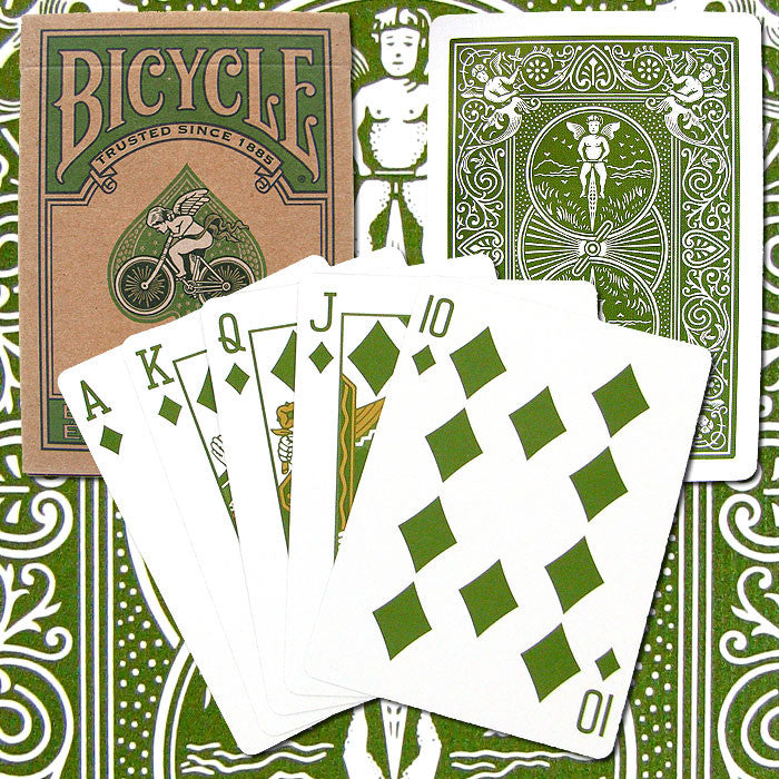 Bicycle Tmc-10-20183 Bicycle Poker Playing Cards - Eco Edition