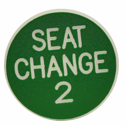 Trademark Poker TMC-10-2Ndsc 2Nd Seat Change Button - Peazz Toys