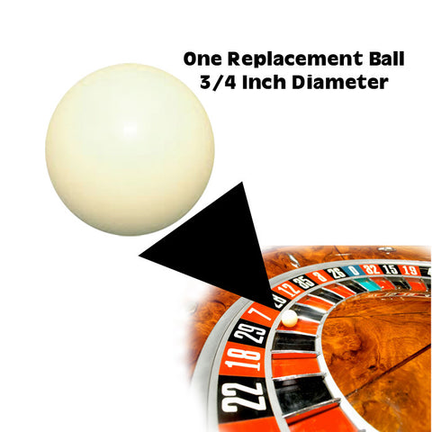 Trademark Games TMC-10-34Rb 3/4 Inch Ball For Roulette Wheel - Peazz Toys