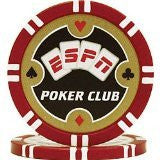 Espn TMC-10-Espn115 Espn Poker Club Professional 11.5G Poker Chips - Peazz Toys